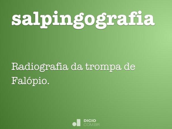 salpingografia