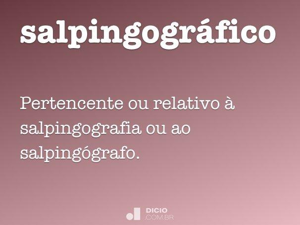 salpingogr�fico