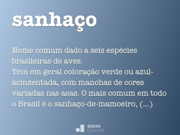 sanhaço