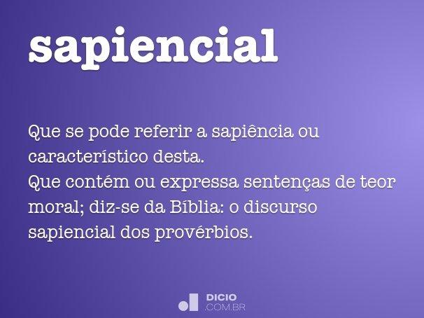 sapiencial
