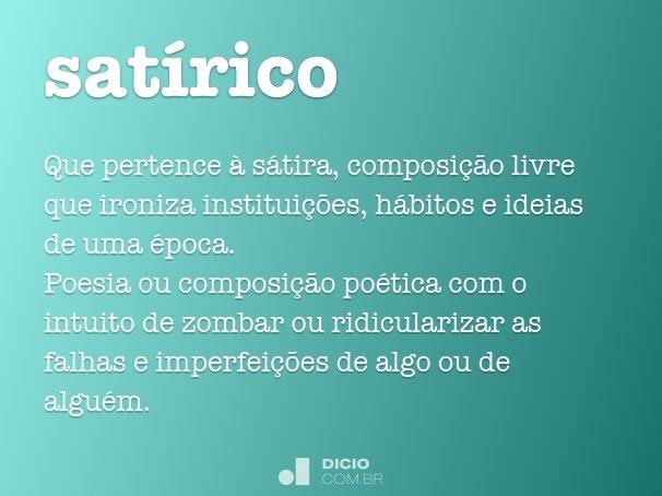 sat�rico