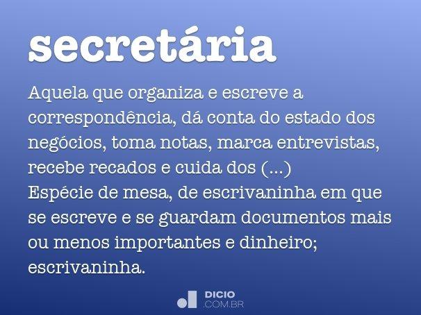 secret�ria