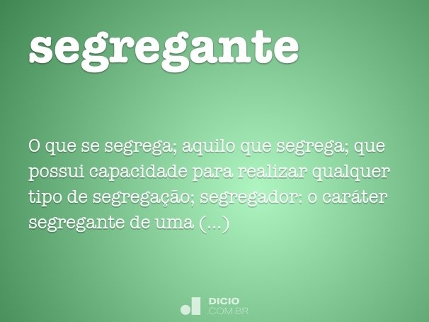 segregante