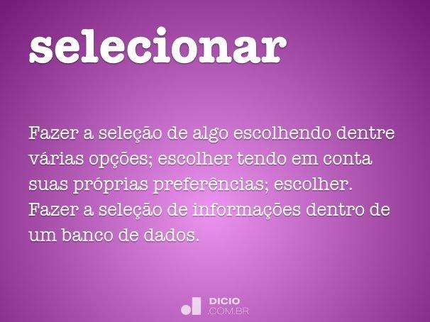 selecionar