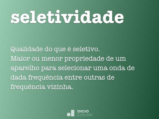 seletividade