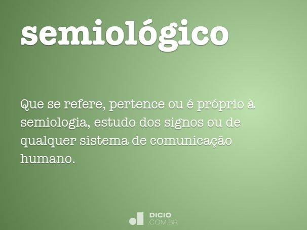 semiológico