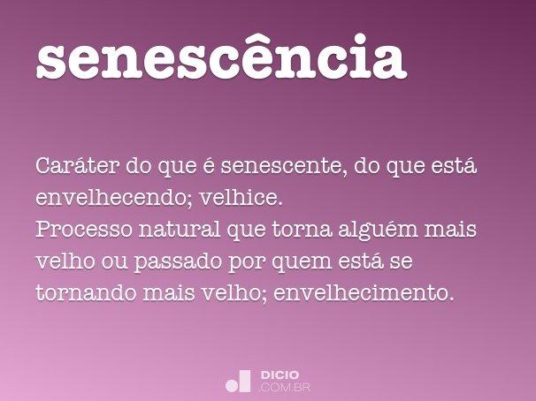 senesc�ncia