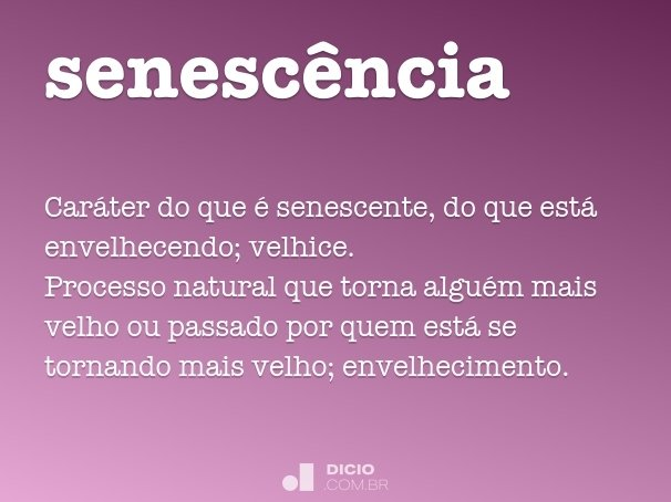 senescência