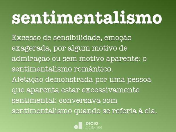 sentimentalismo