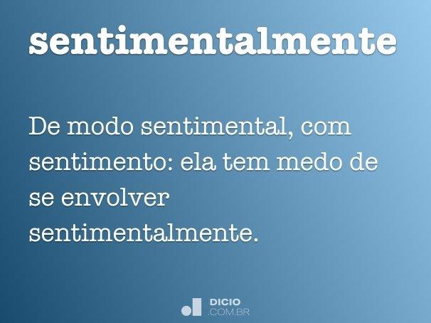 sentimentalmente