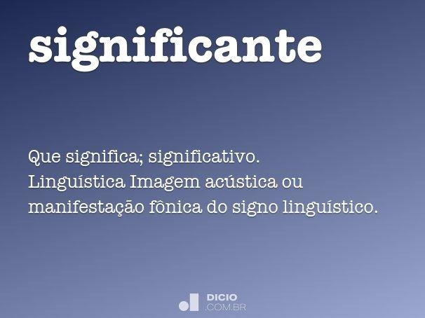 significante