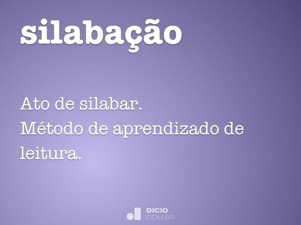 silaba��o