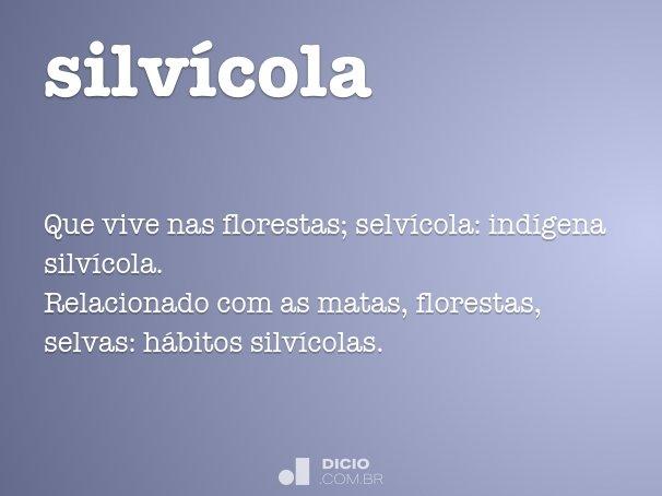 silvícola