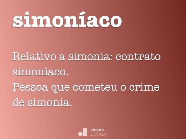 simoníaco
