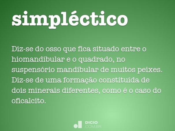 simpl�ctico