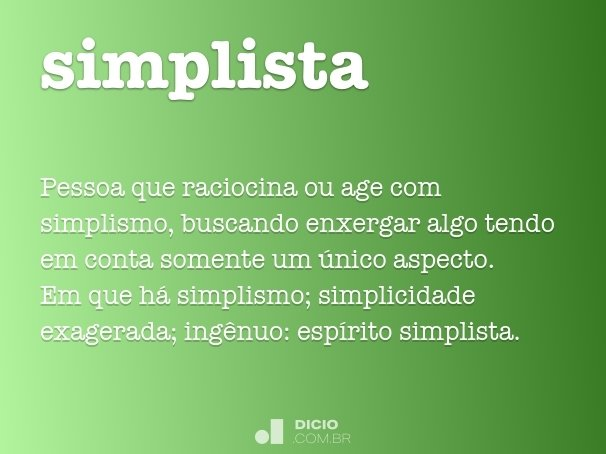 simplista