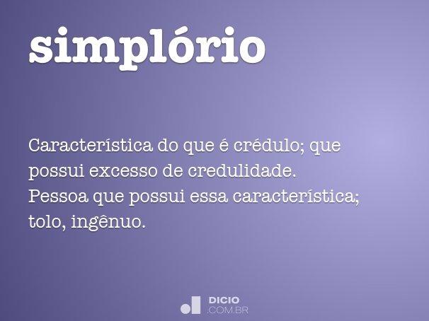 simpl�rio