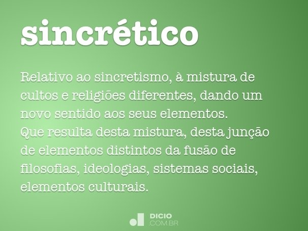 sincr�tico