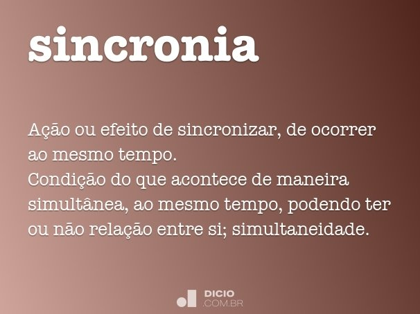 sincronia