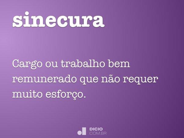 sinecura