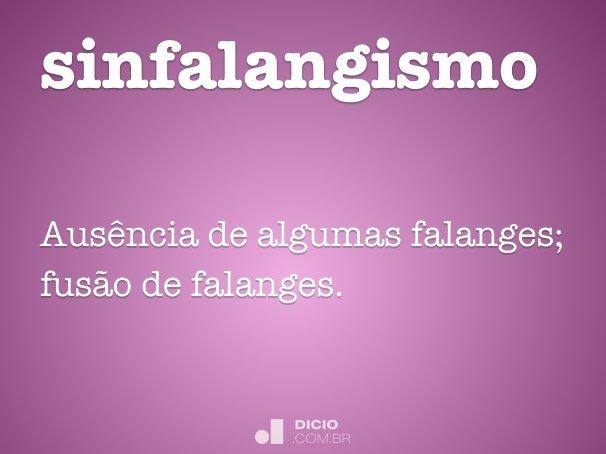sinfalangismo