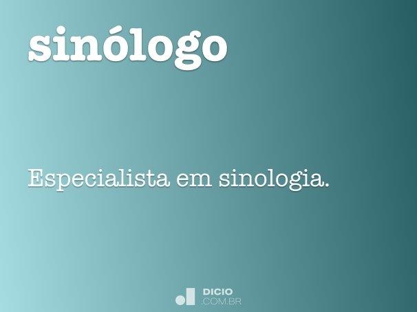 sinólogo