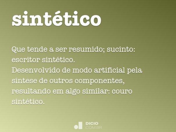sintético