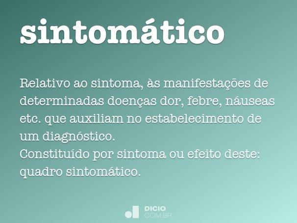 sintomático