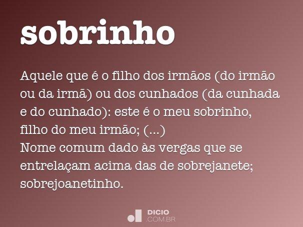 sobrinho
