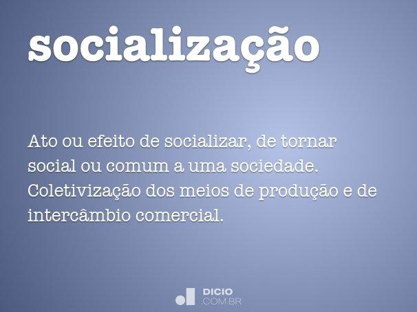 socializa��o