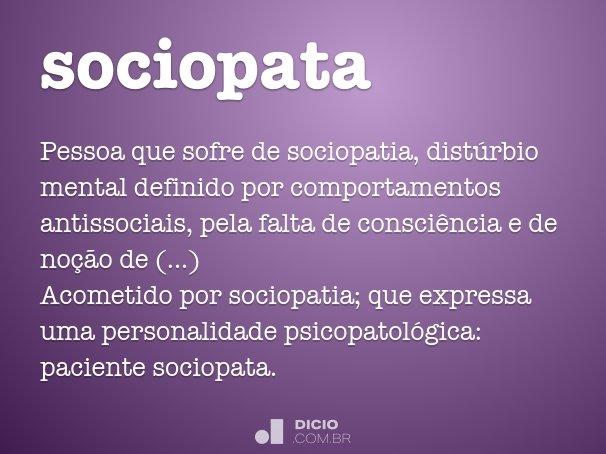 sociopata