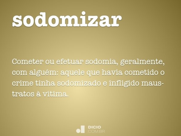 sodomizar