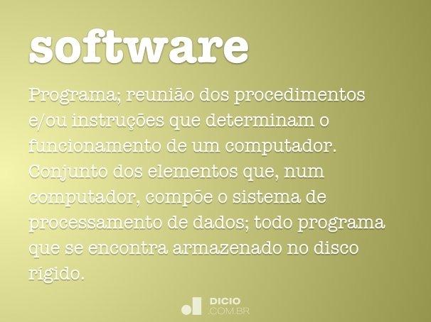 Software - Dicio, Dicionário Online de Português