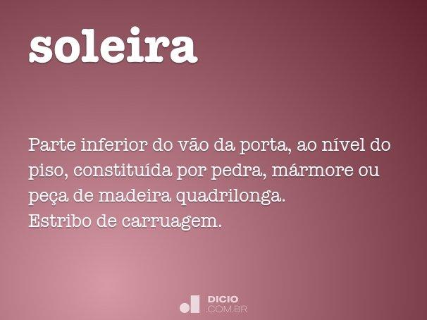 soleira