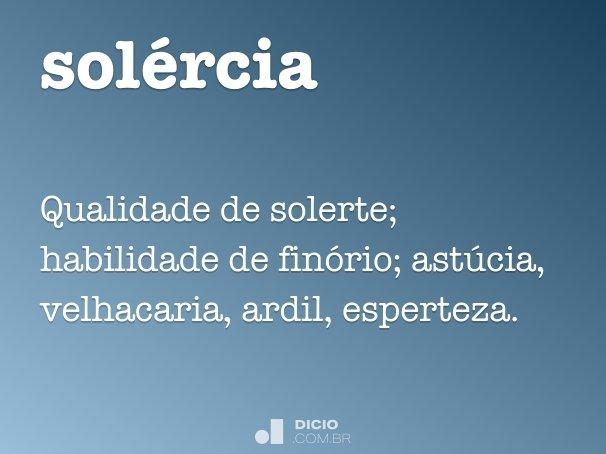 sol�rcia