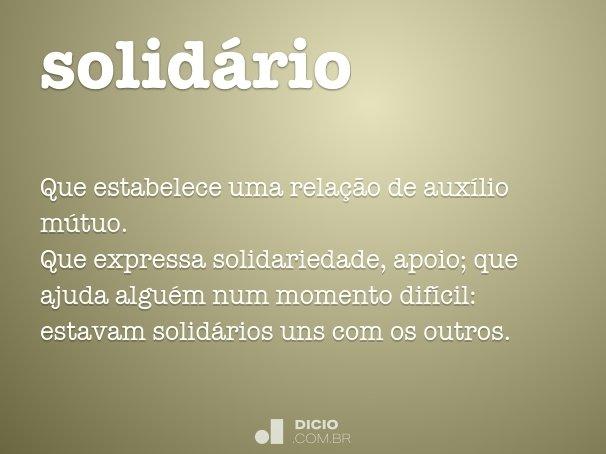 solid�rio