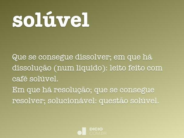 sol�vel