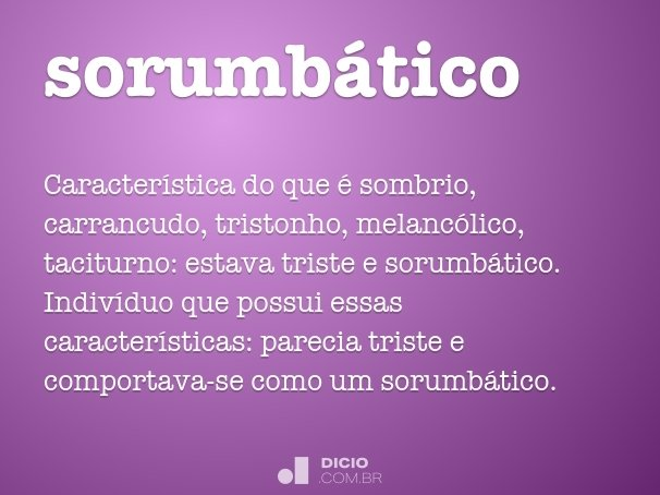 sorumb�tico
