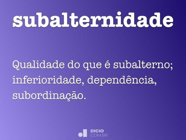 subalternidade