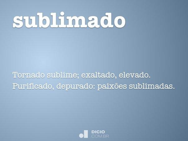 sublimado