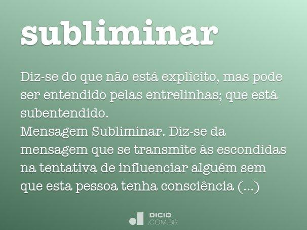 subliminar