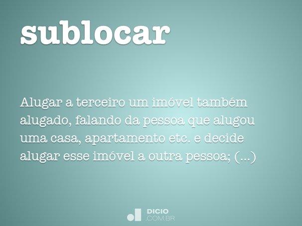 sublocar