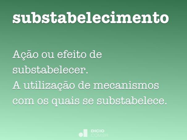 substabelecimento