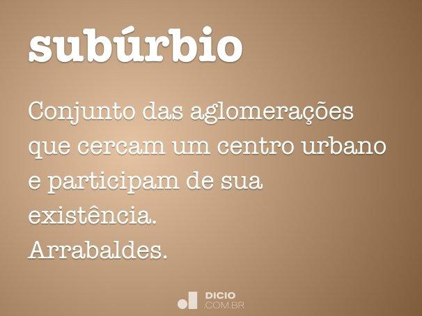 sub�rbio