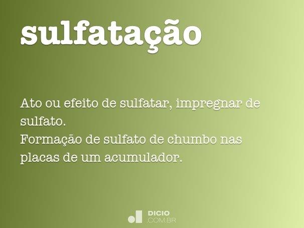 sulfata��o