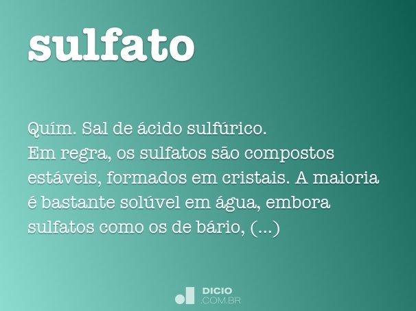 sulfato