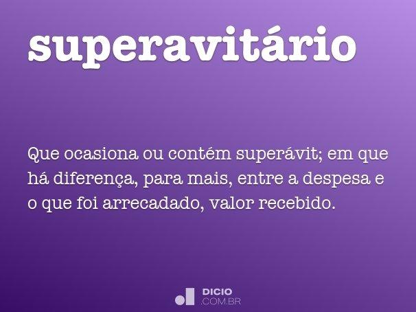 superavit�rio