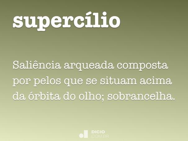 supercílio