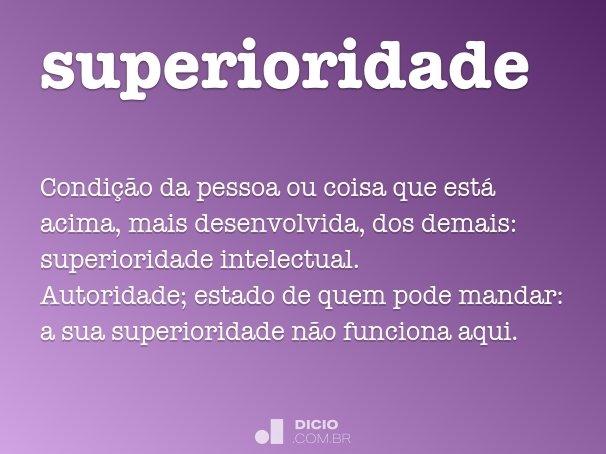 superioridade