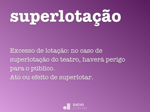 superlotação